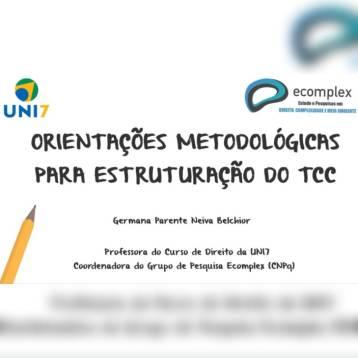 Orientações metodologicas